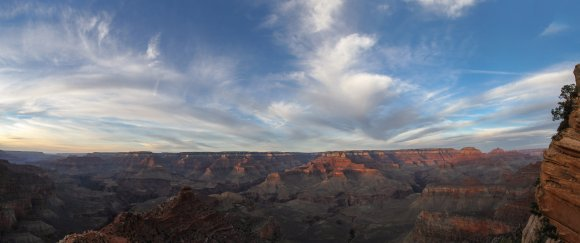 Sunset at the Canyon
