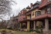 Some of the nice older homes in Louisville