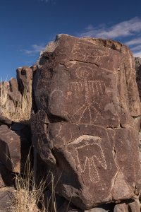 Over 21,000 petroglyphs in a relatively small area of desert