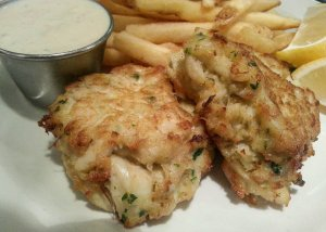 Mmmm...crabcakes