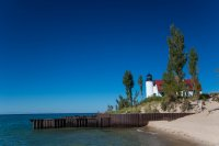 Another Lake Michigan lighthouse
