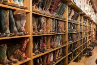 No shortage of boots in Austin
