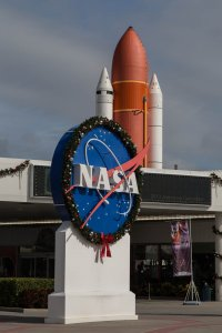 Christmas at the Space Center