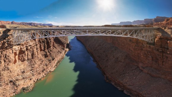 Navajo Bridge and the Colorado River