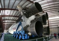 Saturn V, with transporter. I promise no more rockets after this post.