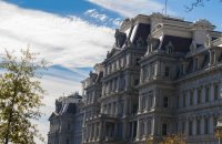 The Eisenhower Executive Office Building, where the VP hangs out