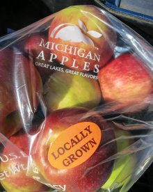 Mmm...Michigan Honeycrisps