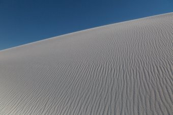 Some really big dunes out there.