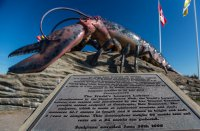 The worlds largest lobster (sculpture)