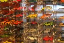 Part of the Hot Wheels collection at the Petersen