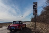 I spent a lot of time following the Lewis and Clark trail, as well as Old Route 66