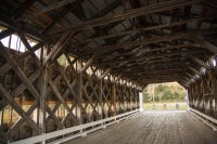 Quite a few covered bridges up there