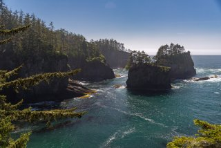 Cape Flattery, looking west