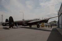 Wide shot of the Lancaster