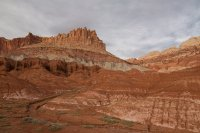 The Castle formation at Capitol Reef